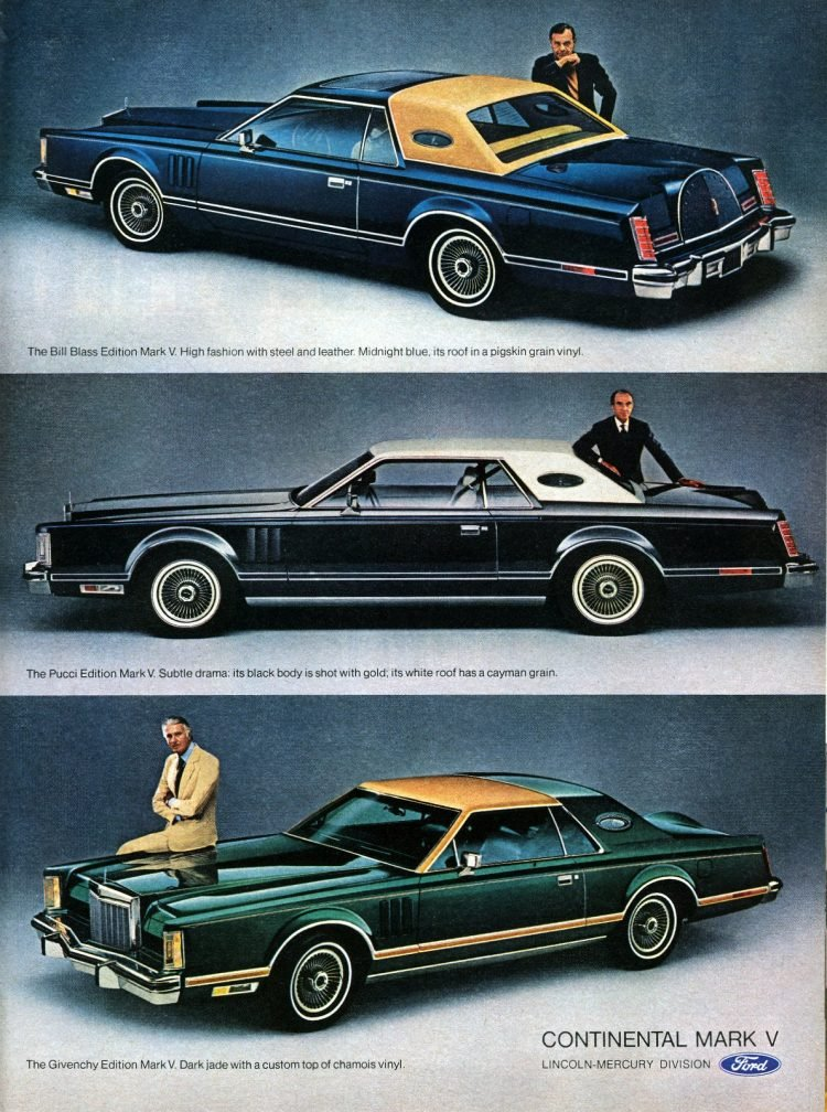 1977 Lincoln Continental Mark V by Ford (2)