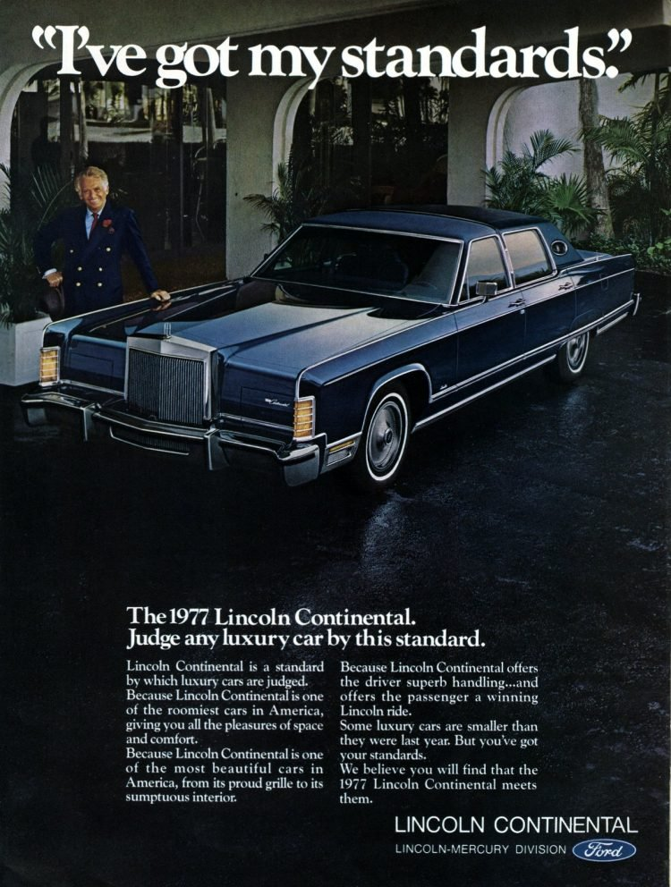 1977 Lincoln Continental by Ford