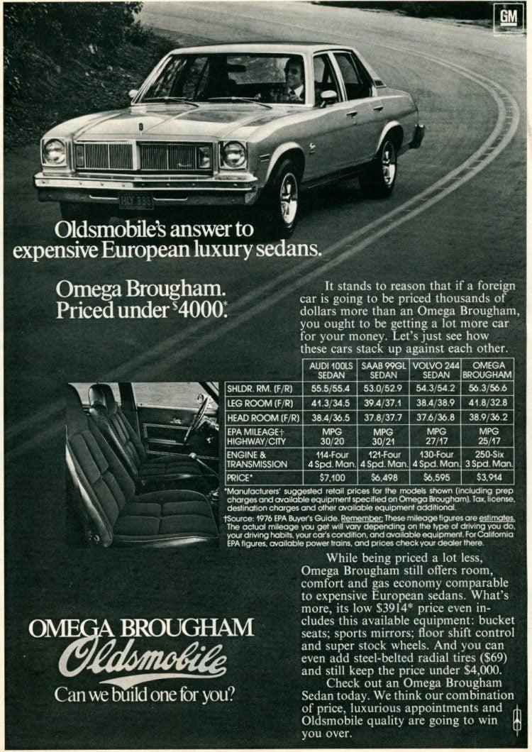 1977 Omega Brougham