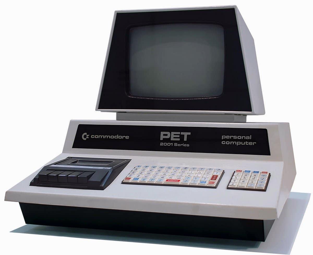 1977 PET computer PC