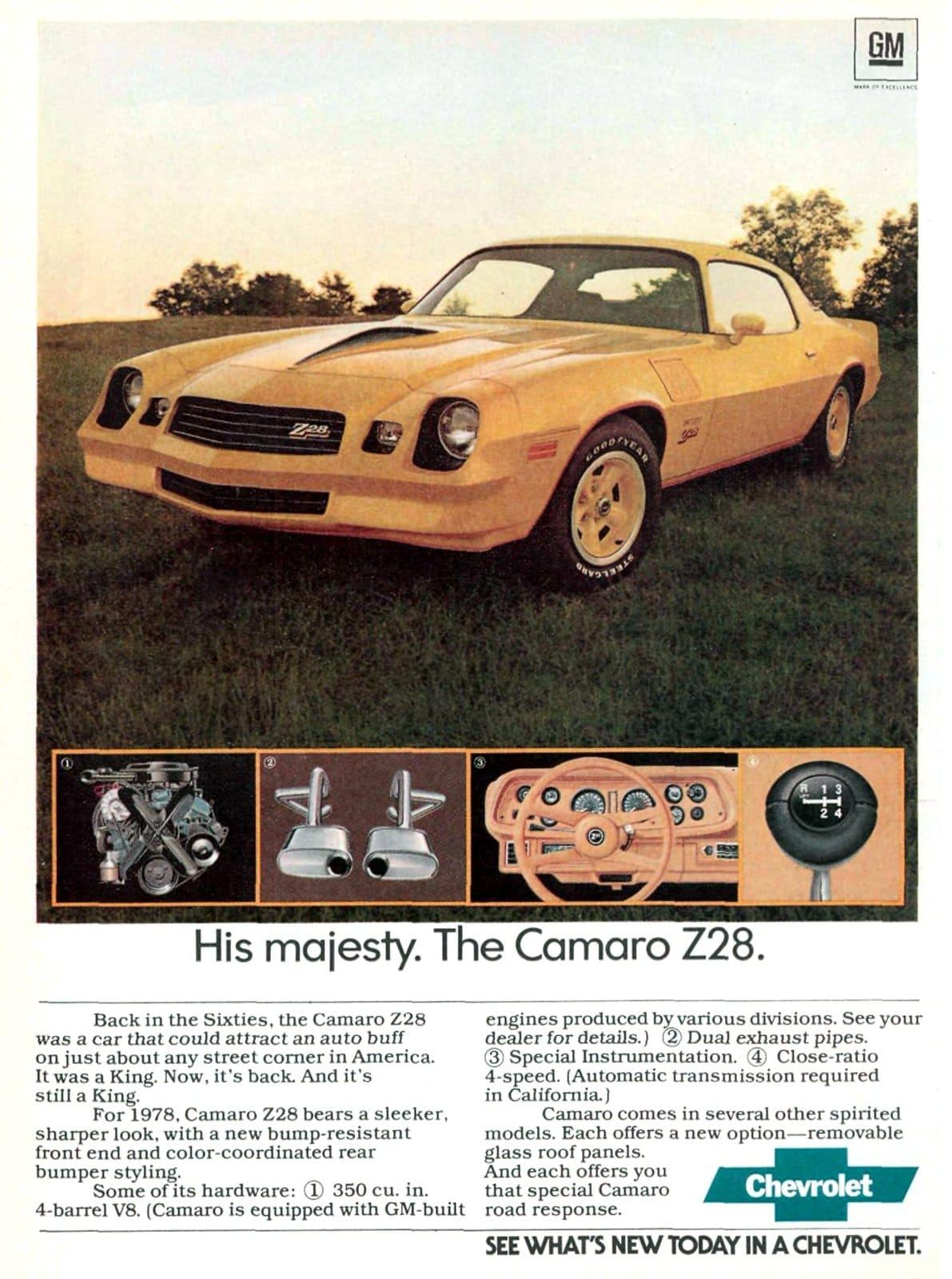 1978 Camaro Z28