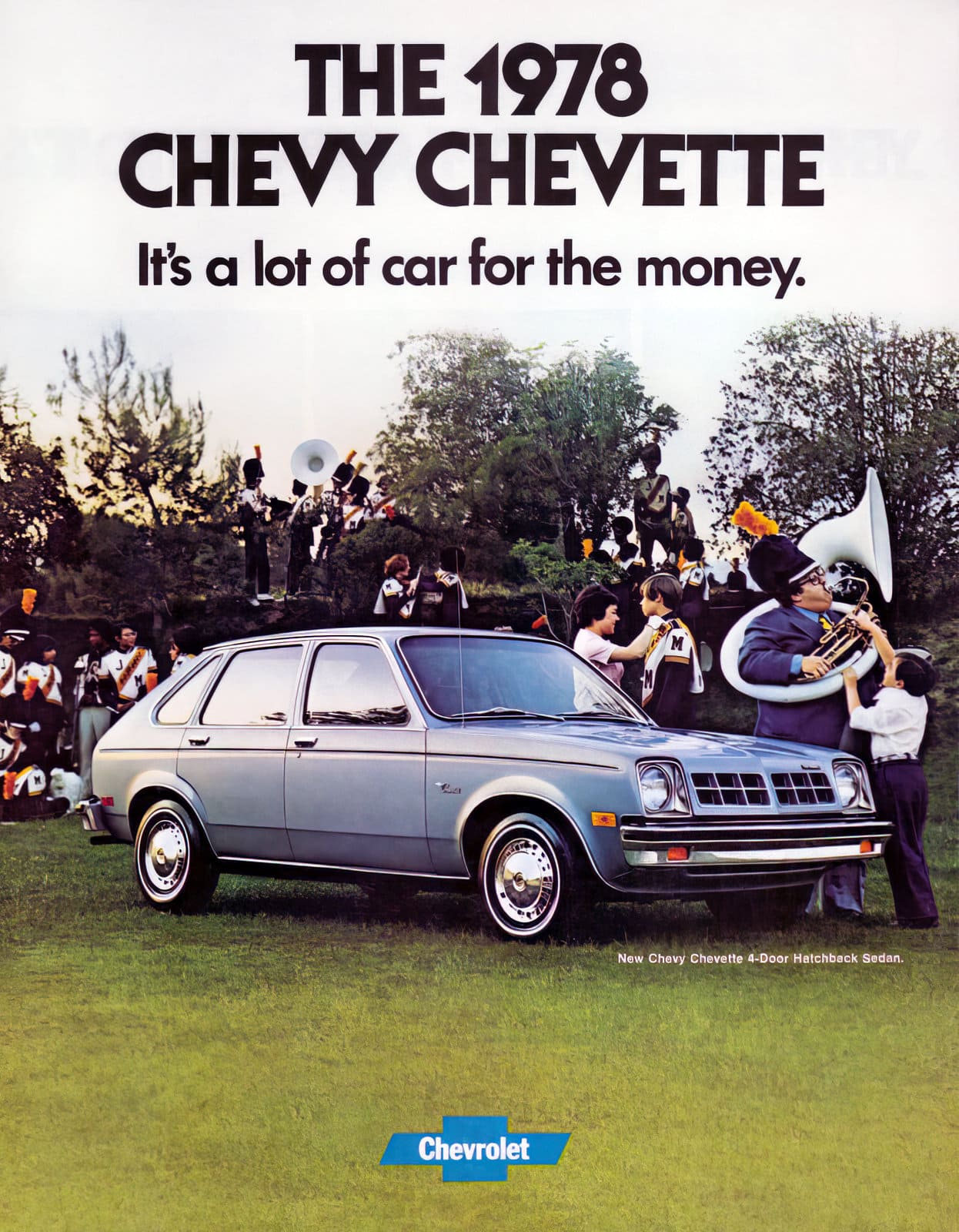 1978 Chevy Chevette 4-door hatchback sedan