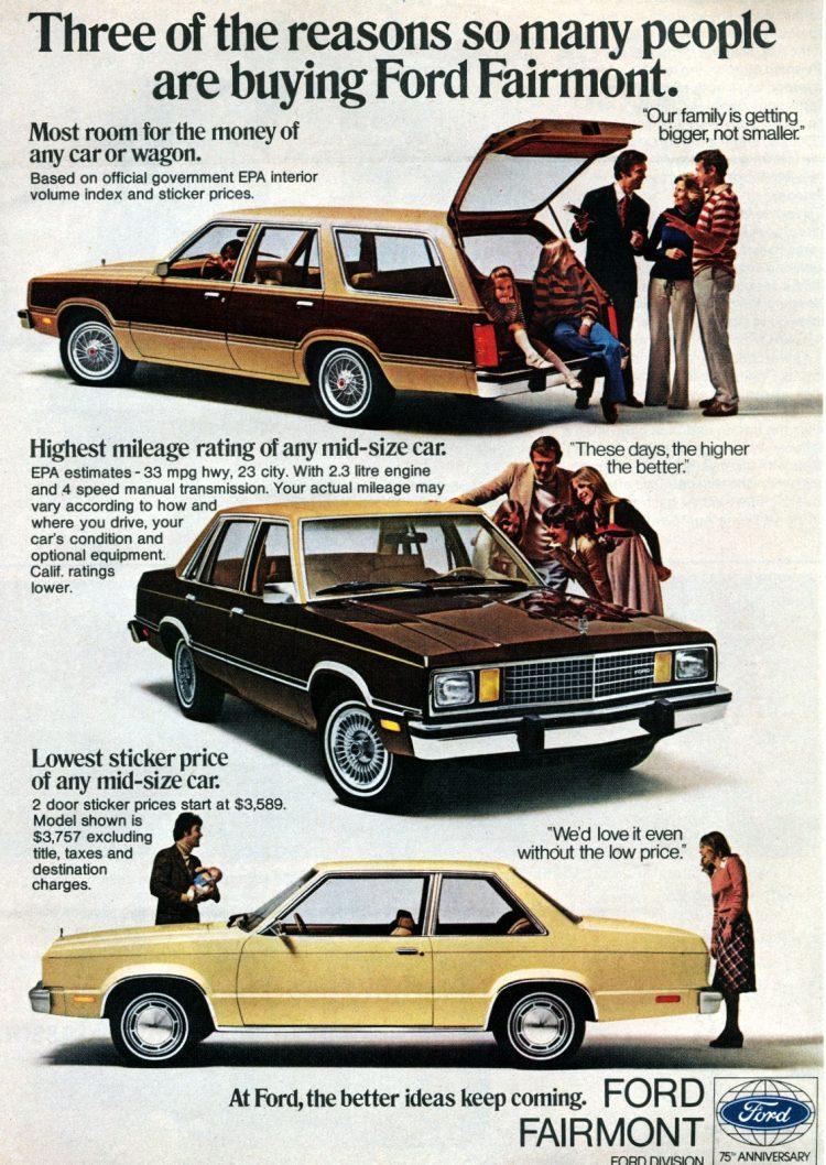 1978 Ford Fairmont vintage cars