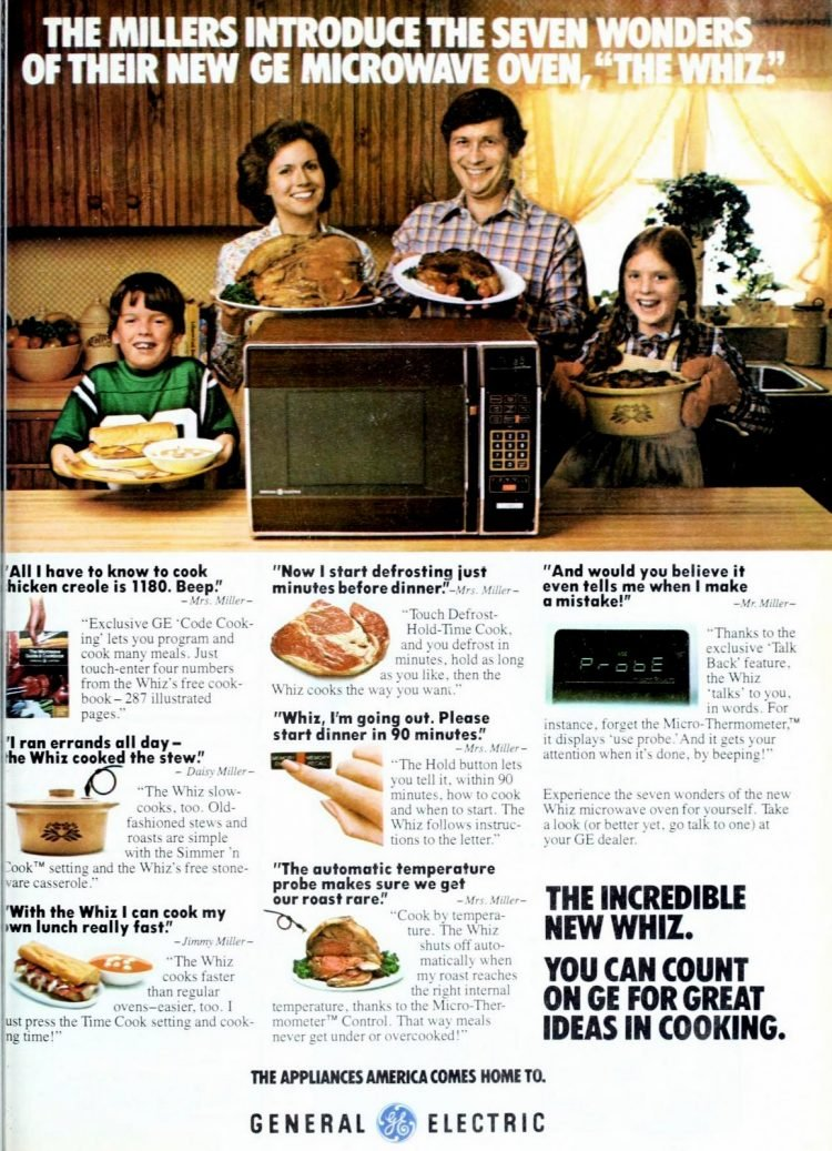 1978 GE microwave ovens - The Whiz
