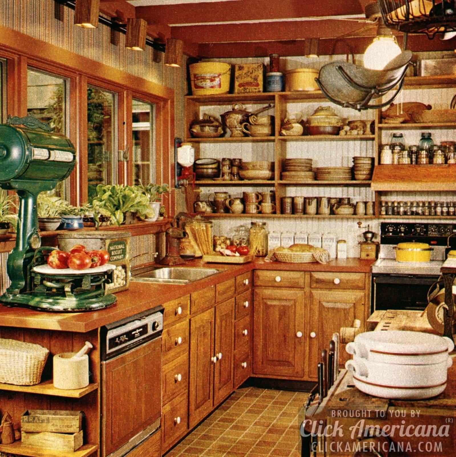 Glorious vintage designer kitchen remodels (1978) - Click ...