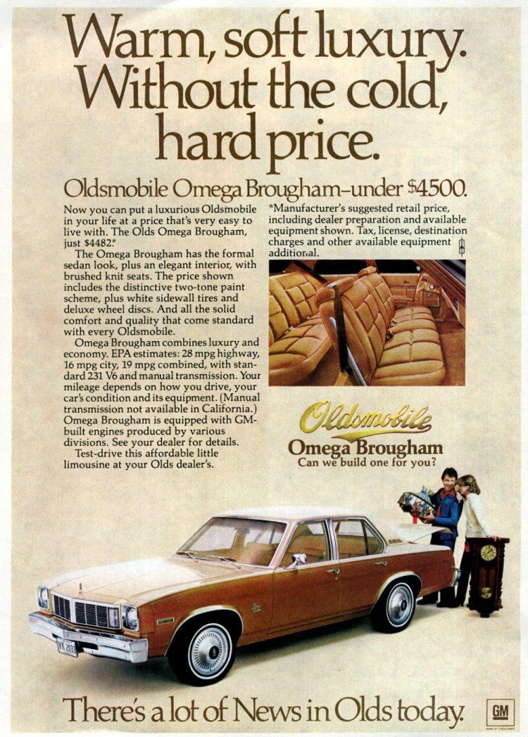 1978 Oldsmobile Omega Brougham