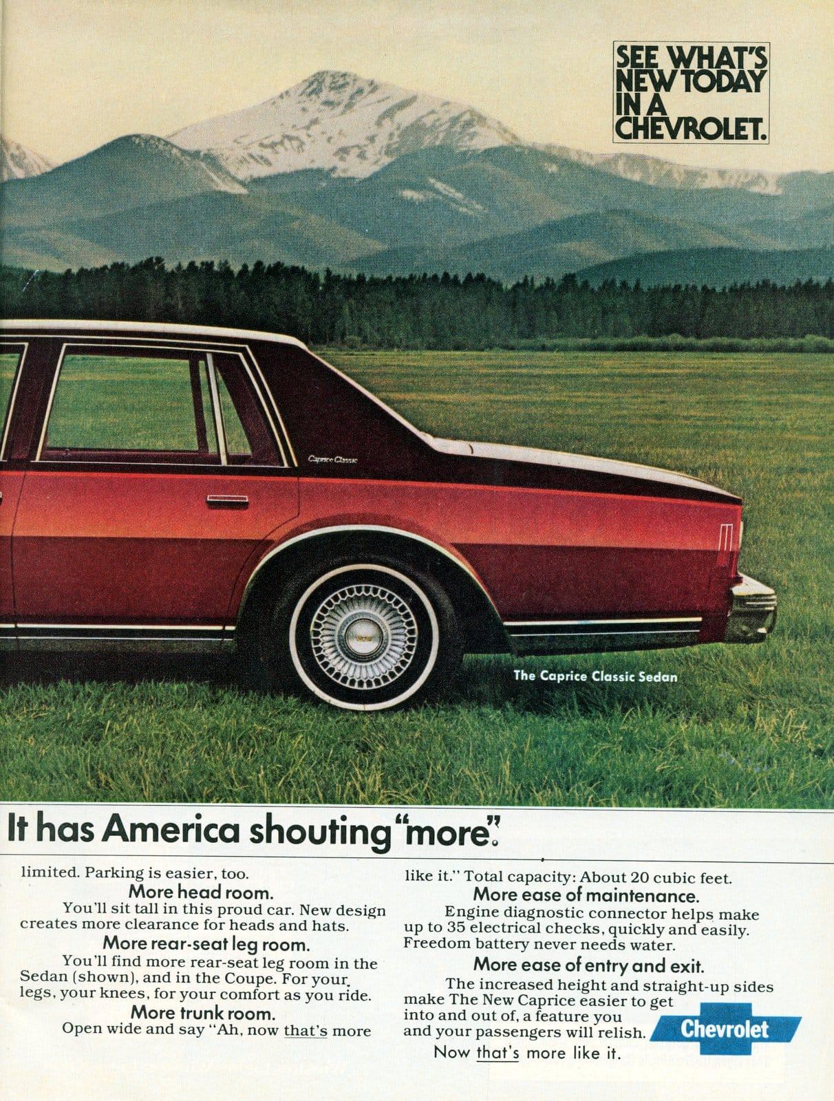 1978 Red Chevy Caprice Classic Sedan (1)