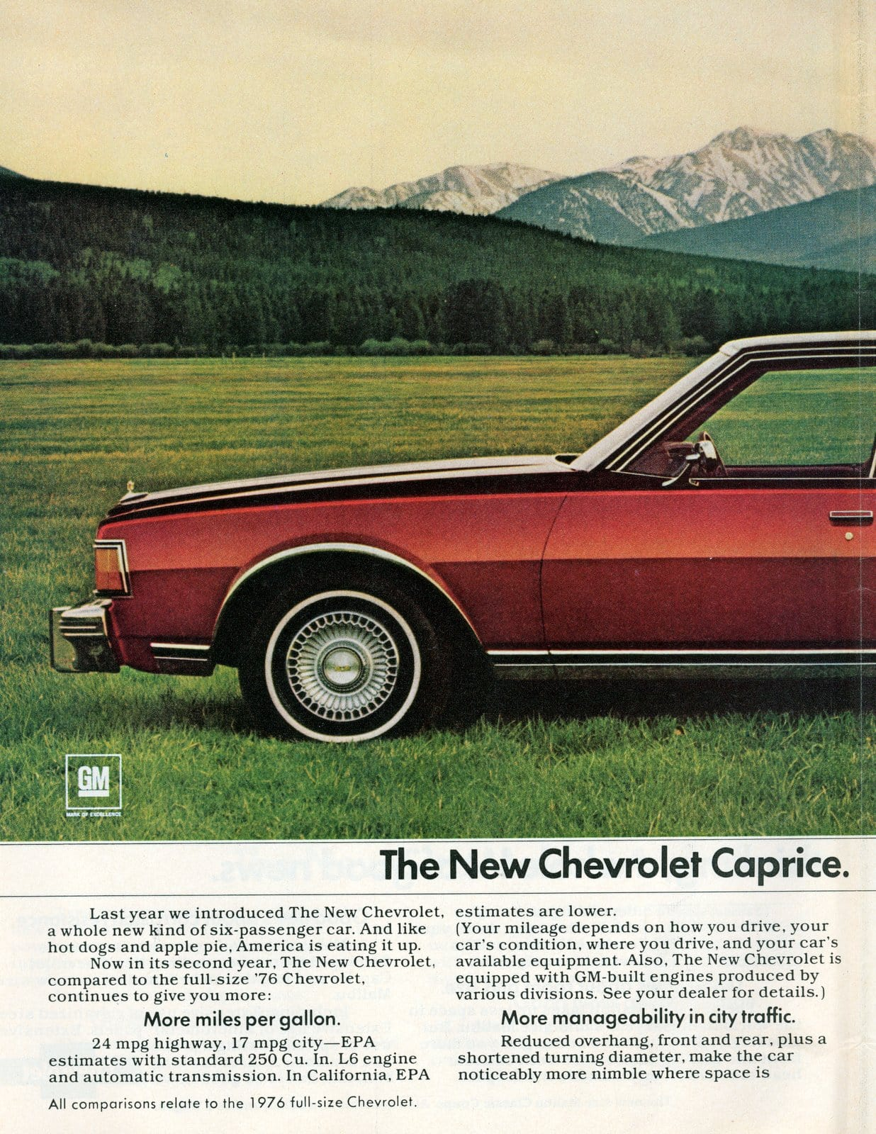1978 Red Chevy Caprice Classic Sedan (2)
