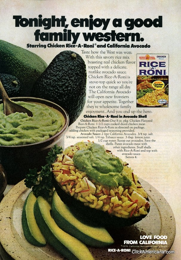 Tempting treats starring the California avocado