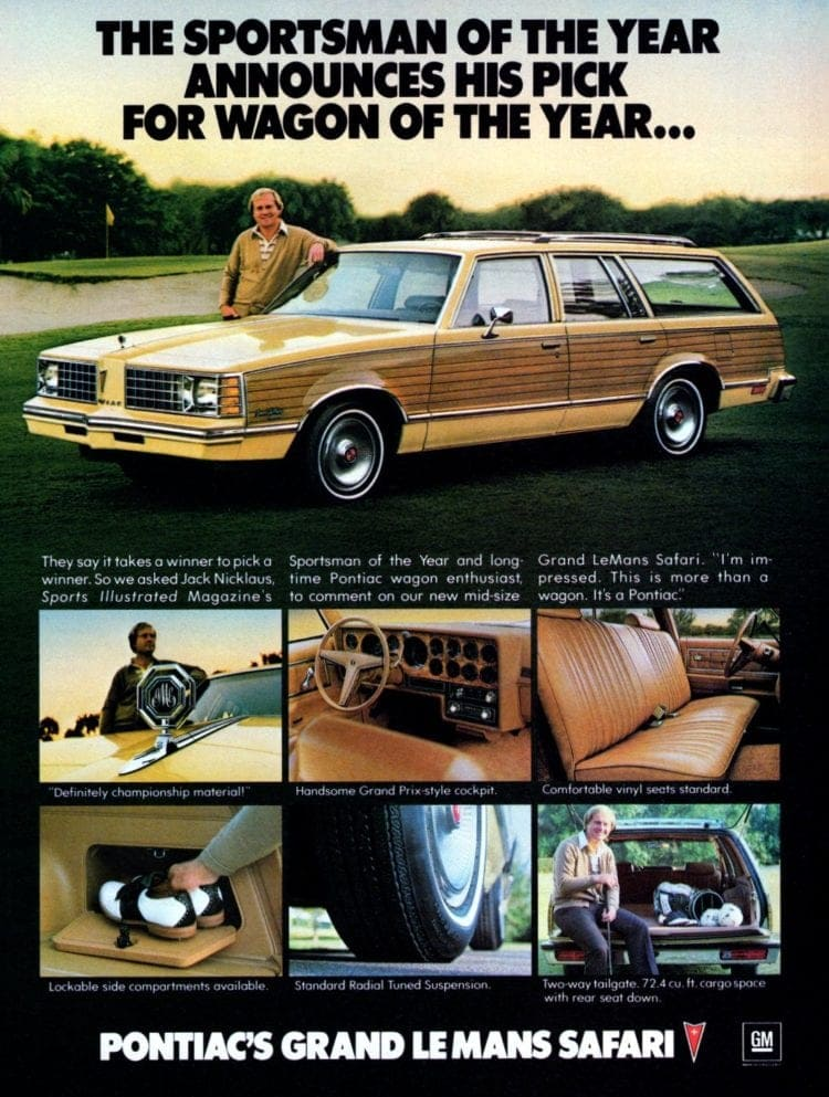 1979 Pontiac Grand LeMans Safari - Golfer Jack Nicklaus