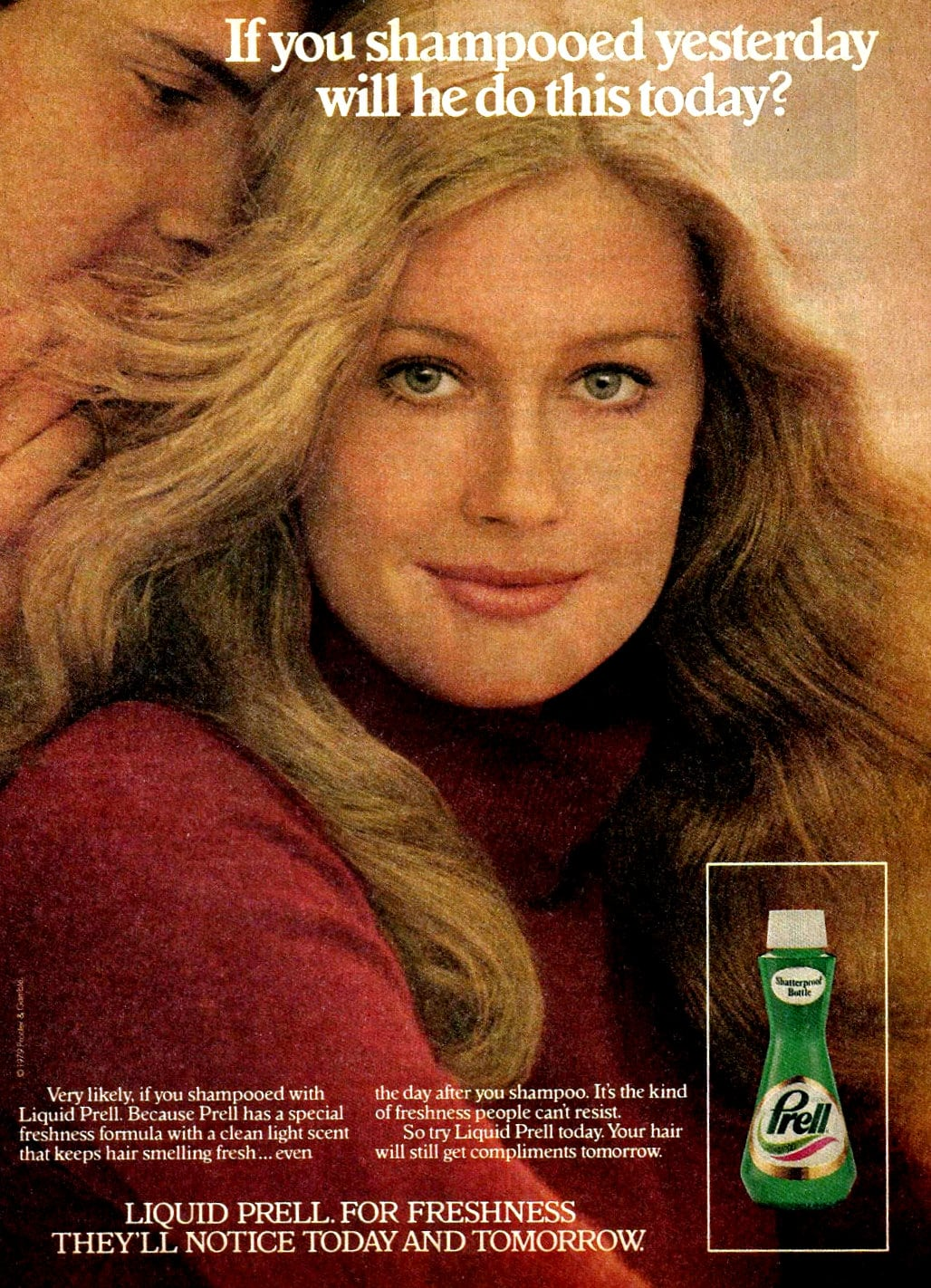 1979 Prell shampoo vintage ad