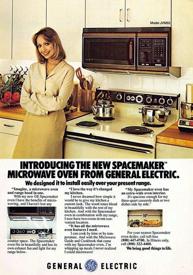 1979 Spacemaker GE microwave hood