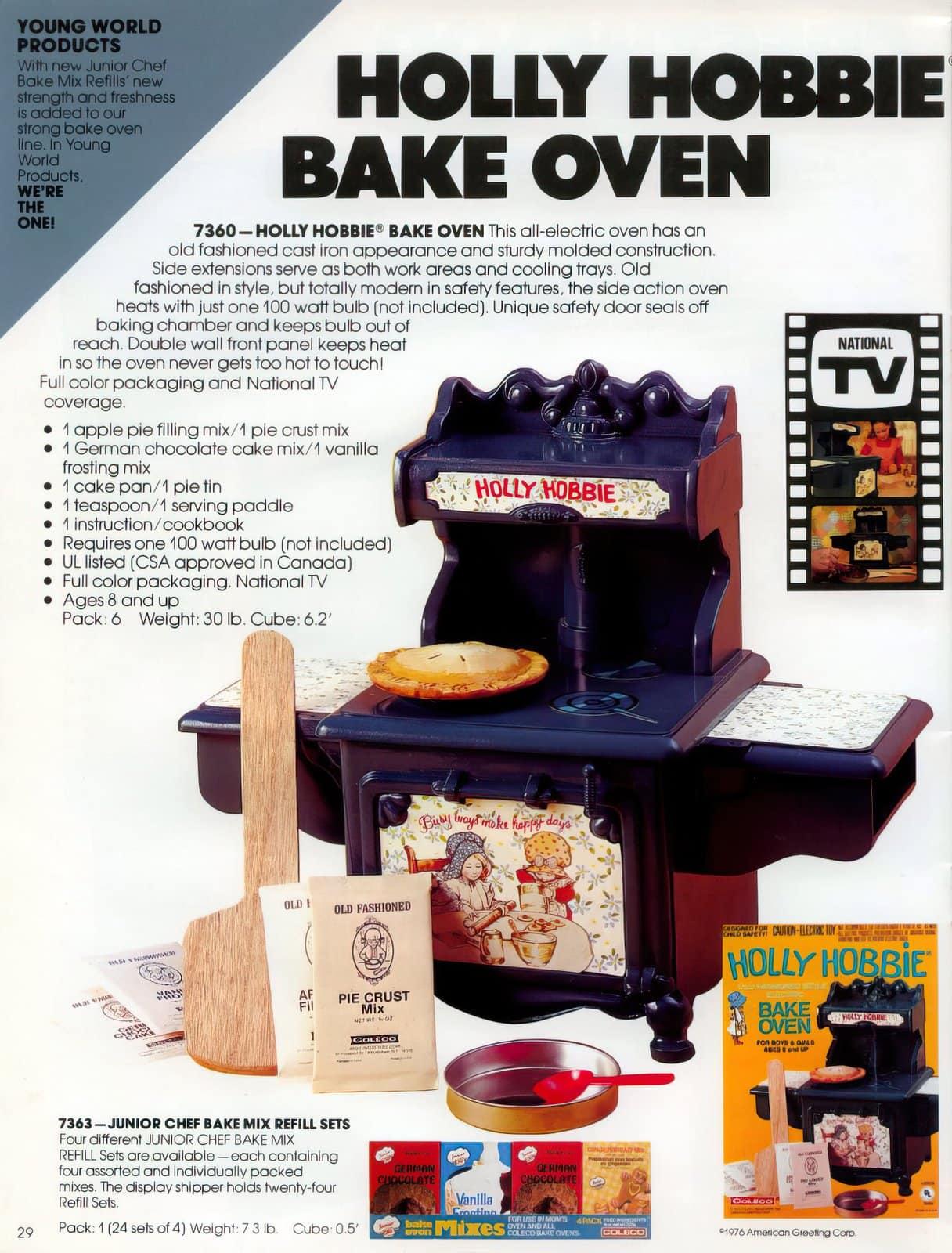 1980 Coleco Hollie Hobbie Bake Oven