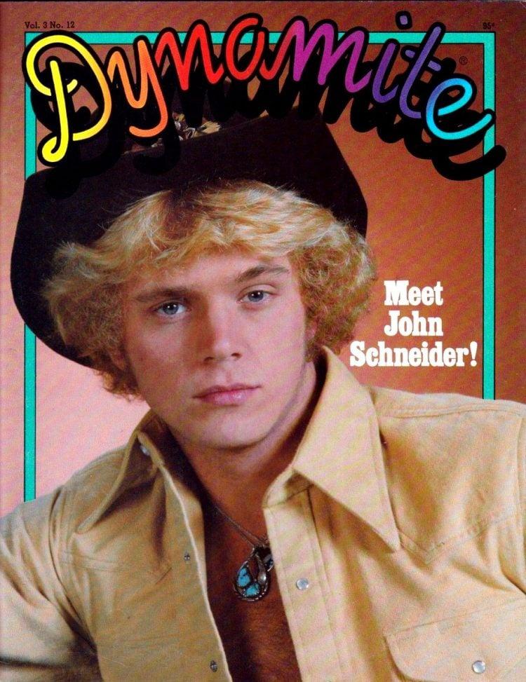 1980 Dynamite magazine cover John Schneider