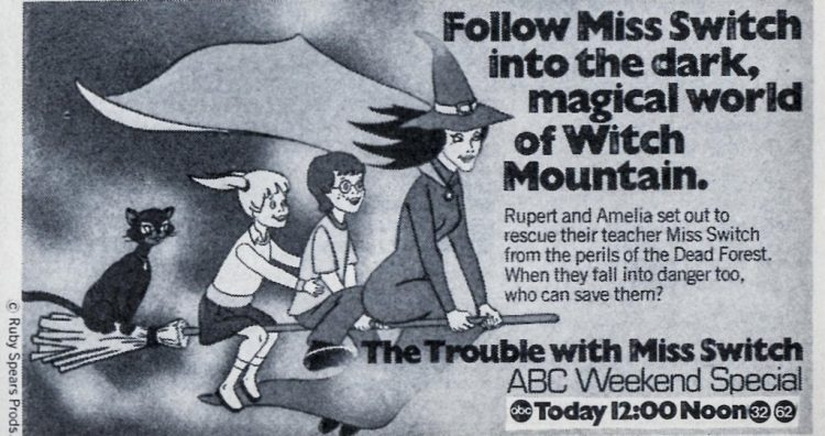 1980 Trouble With Miss Switch - Witch Mountain TV special