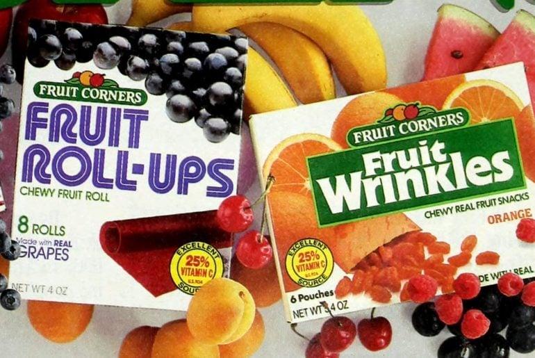 1980s fruit snacks