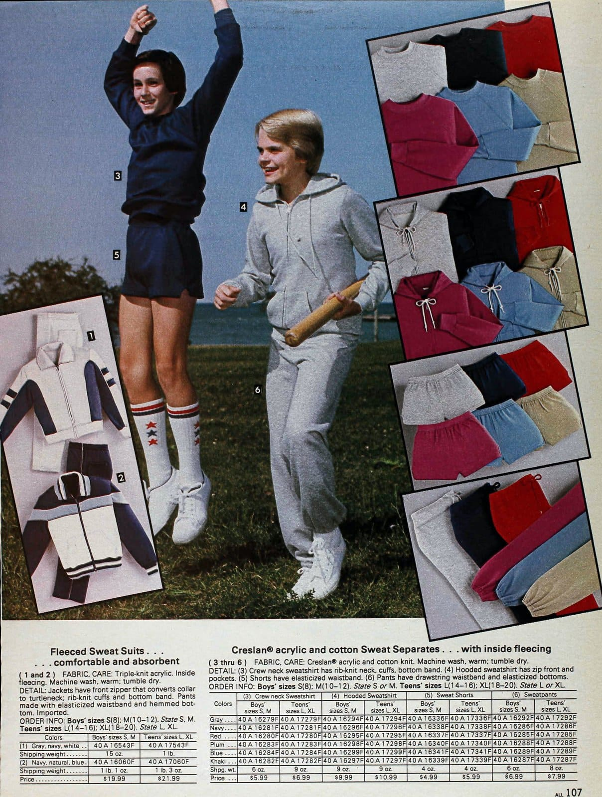 1980s menswear clothing from Sears 1983 (2)