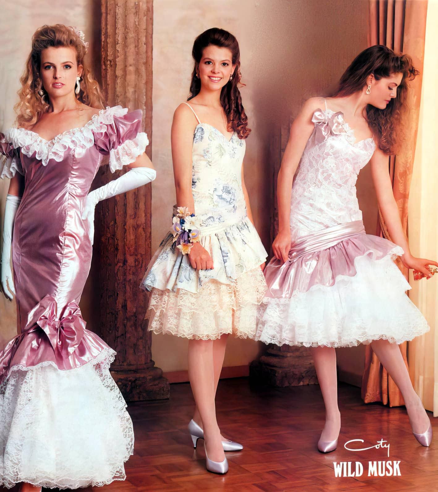 1980s prom dresses - Coty