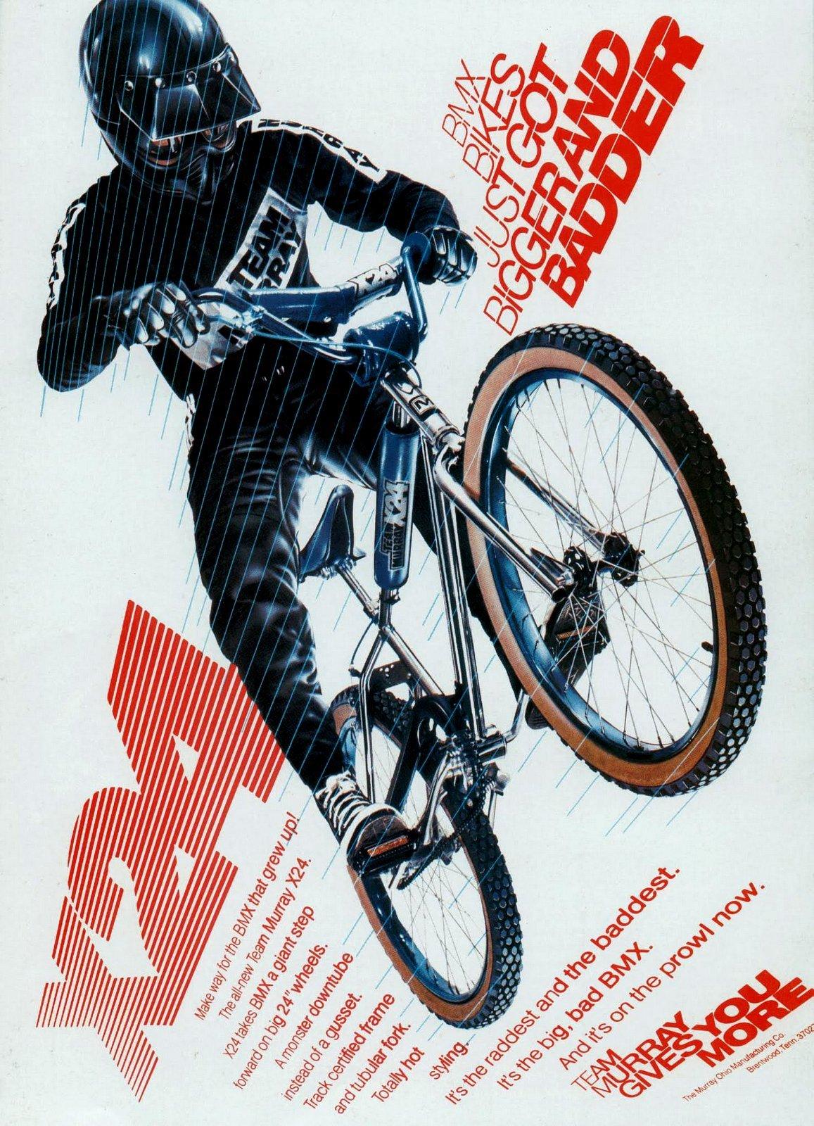 1981 BMX bikes Team Murray