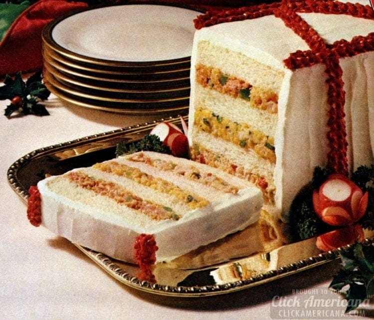 1981 Holiday party loaf recipe