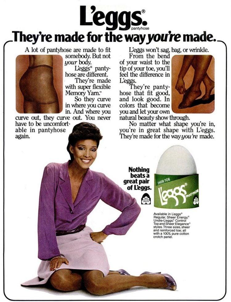 1981 - L'eggs pantyhose - fashion