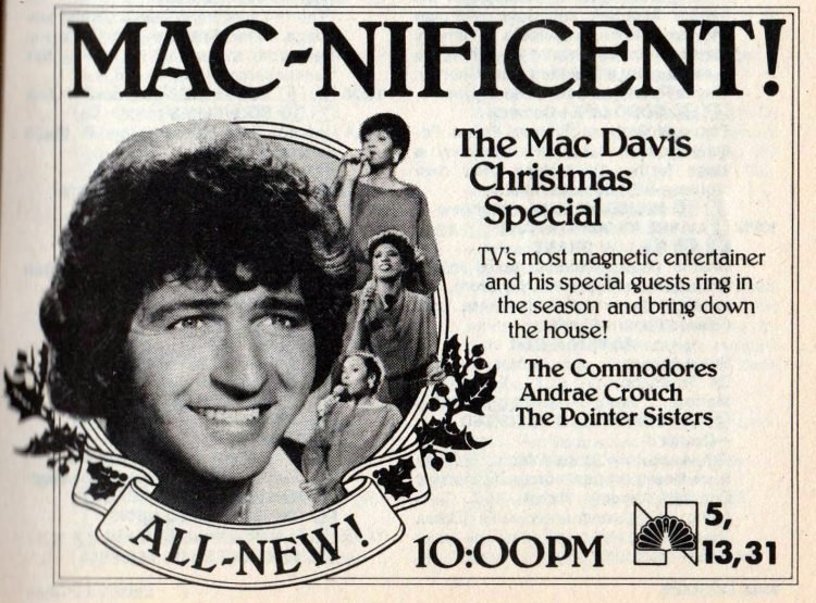 1981 Mac Davis TV Christmas special