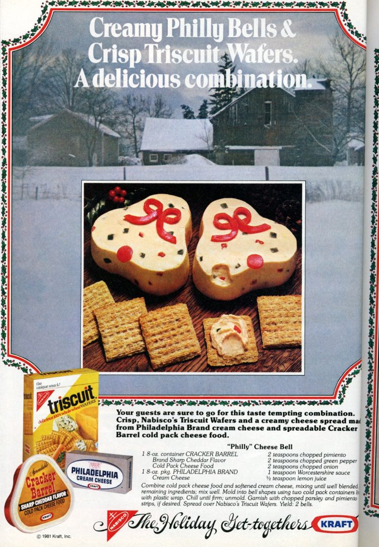 1981 Philly cheese bells The perfect retro appetizer for your Christmas party