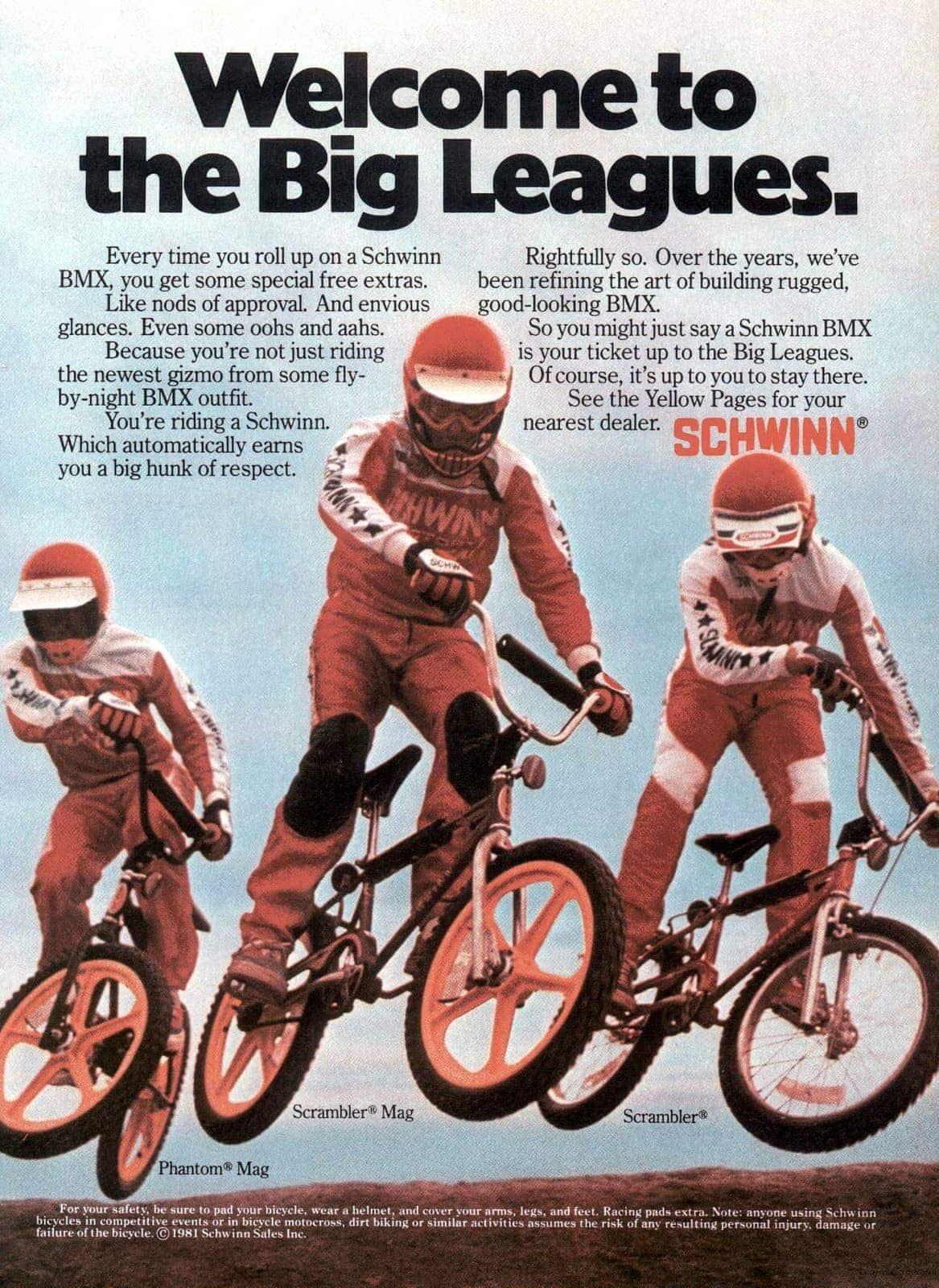1981 Schwinn BMX bikes