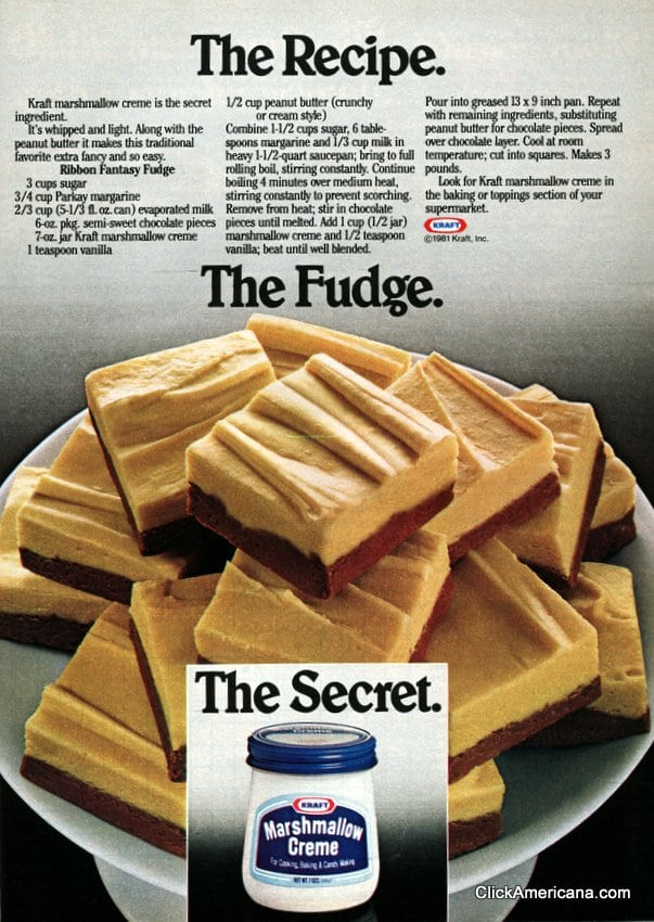 Ribbon Fantasy Fudge 1981 Click Americana