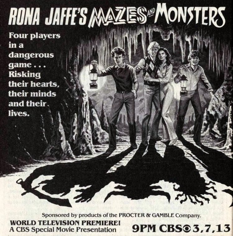 1982 Rona Jaffe's Mazes and Monsters Tv special