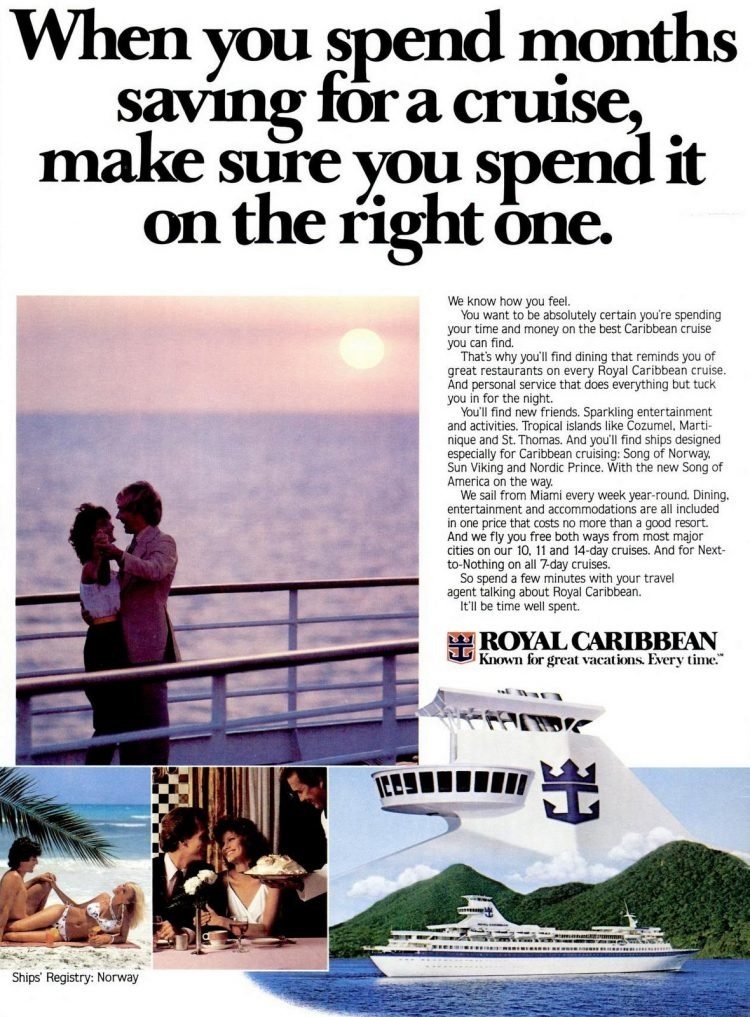1982 Royal Caribbean Cruises