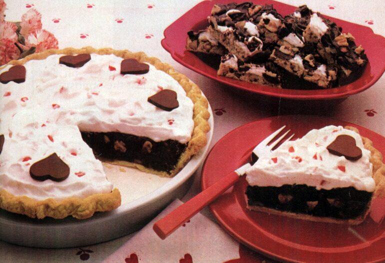1982 Sweetheart fudge pie Rocky road bar recipes
