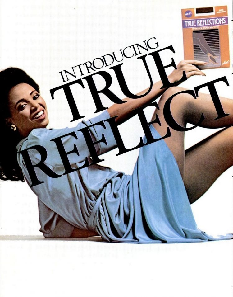 1983 Hanes True Reflections nylons