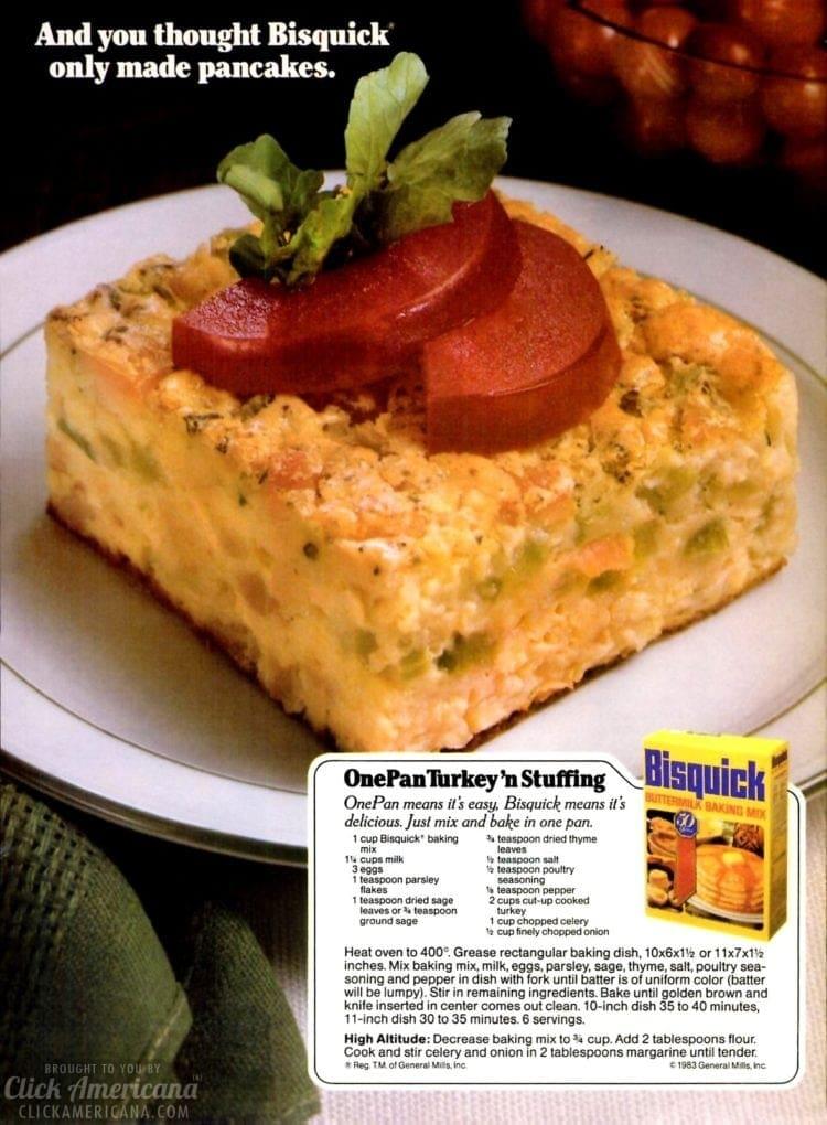 1983 One pan turkey n stuffing recipe