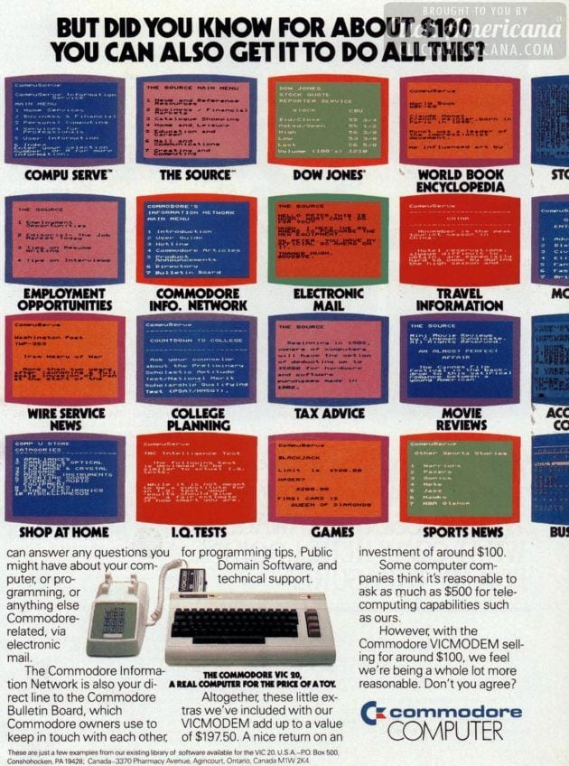 Did you know the Commodore VIC computer could do all this? (1983)