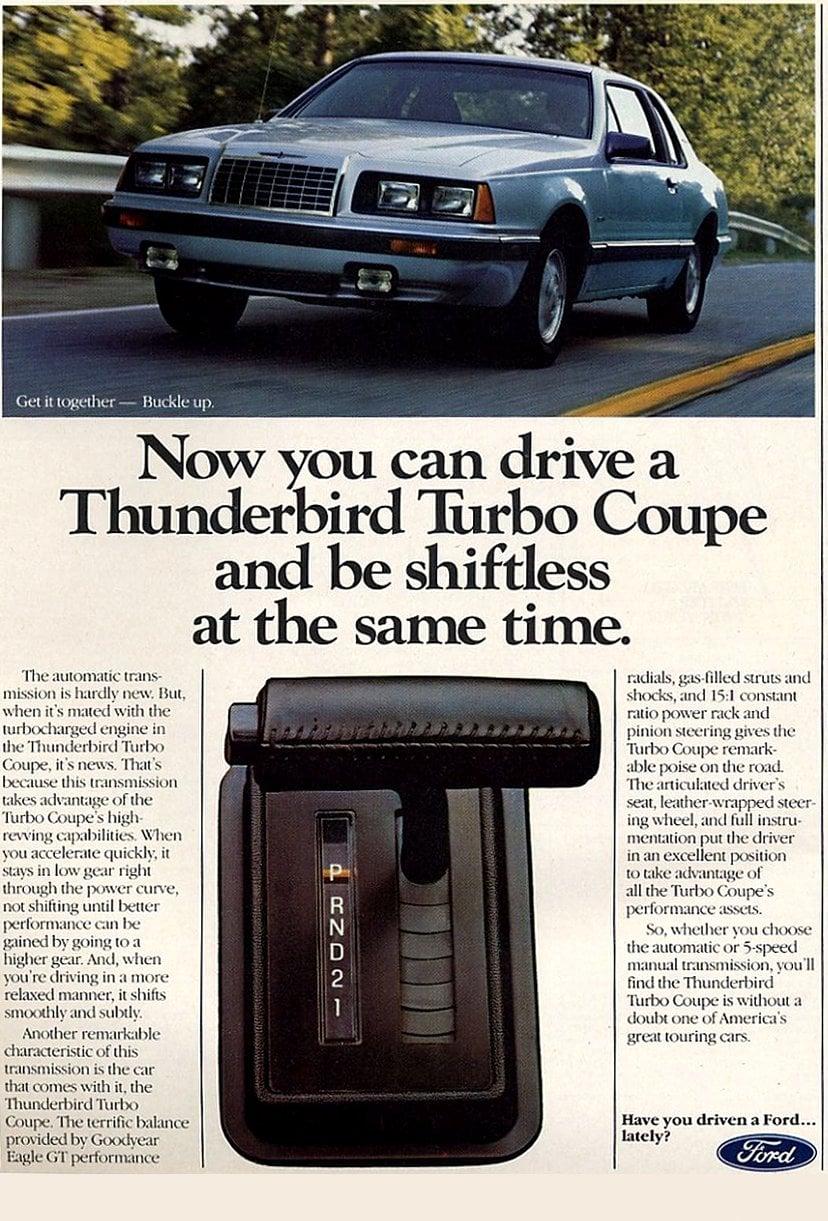 1984 Thunderbird Turbo Coupe