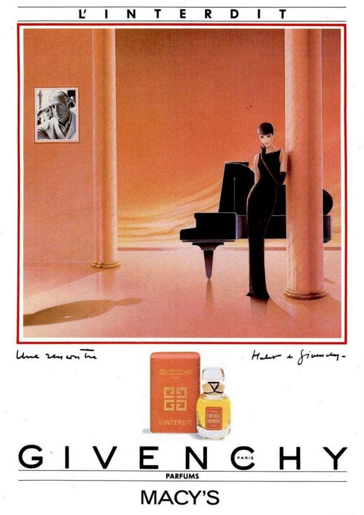 1985 Givenchy perfume