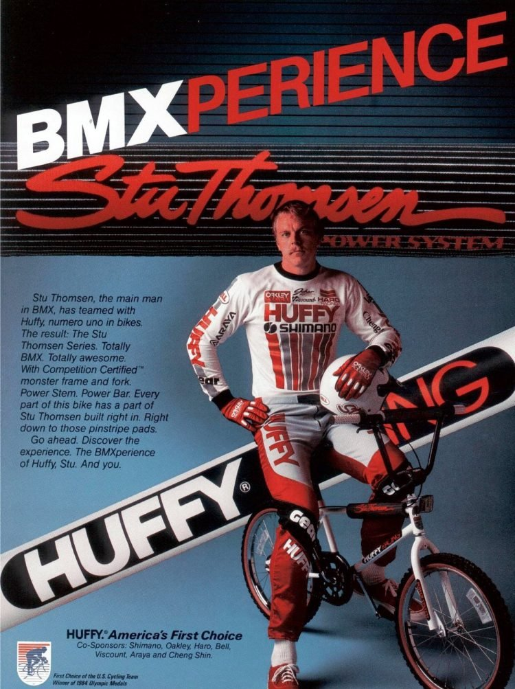 1985 Huffy BMXperience bike