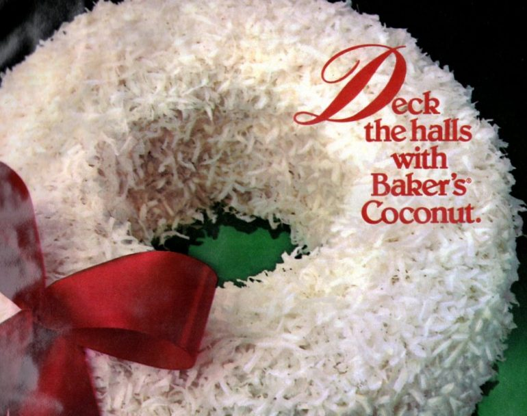 1985 Vintage Christmas Rave Reviews cake recipe