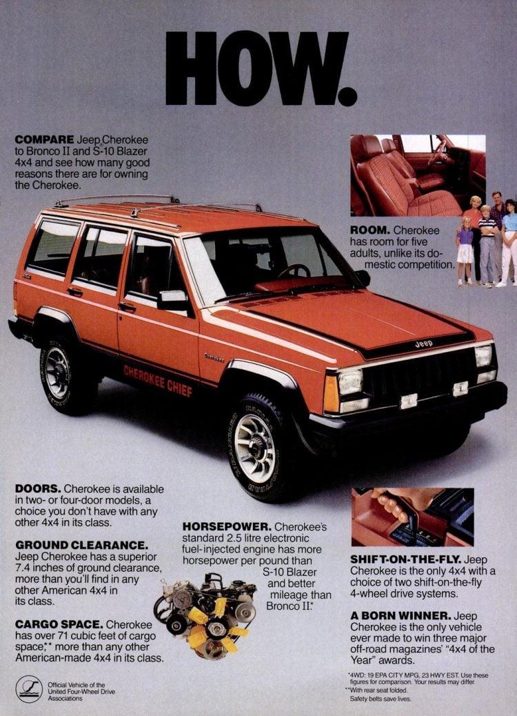 1986 Jeep Cherokee Chief
