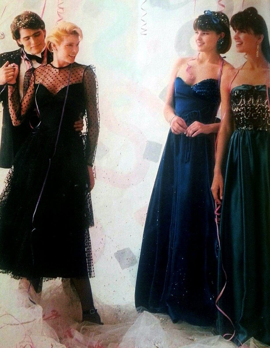 1986 prom fashion