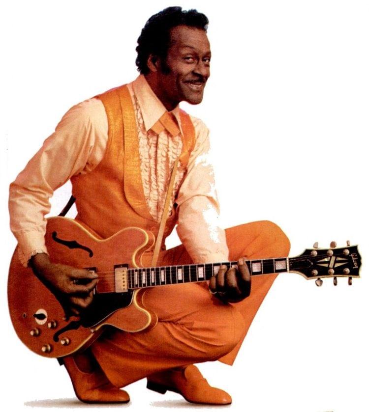 1987 Chuck Berry musician