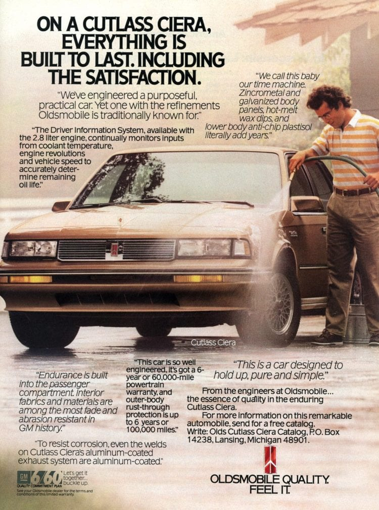 1988 Cutlass Ciera Oldsmobile car