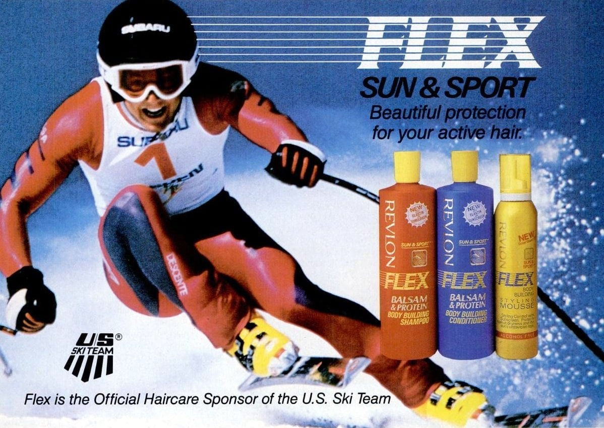 1988 Flex shampoo - beauty hair