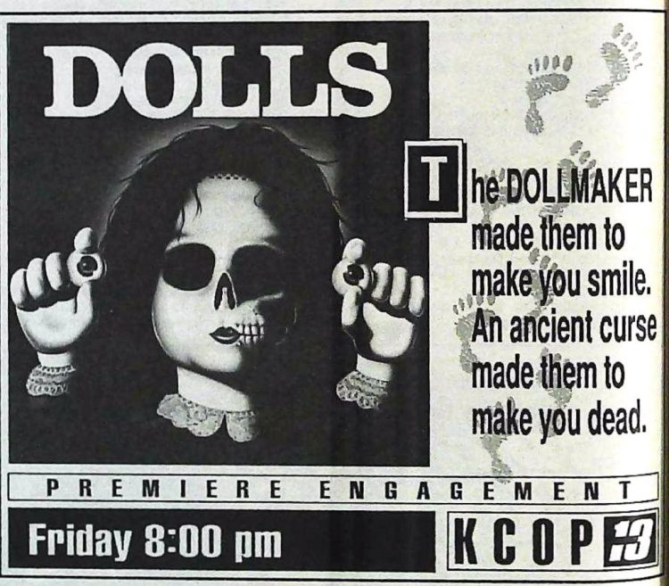 1990 Dolls - The Dollmaker TV show
