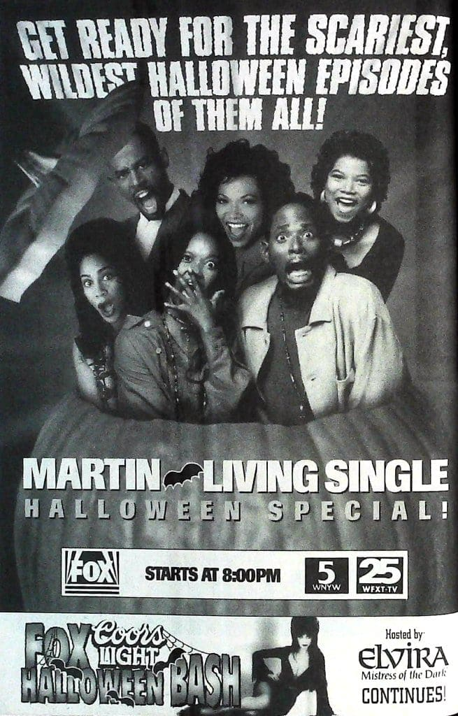1994 Martin and Living Single Halloween specials