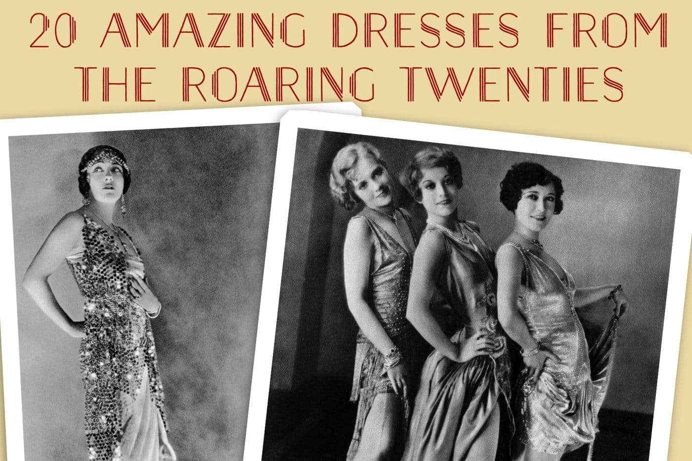 20 amazing dresses from the Roaring Twenties
