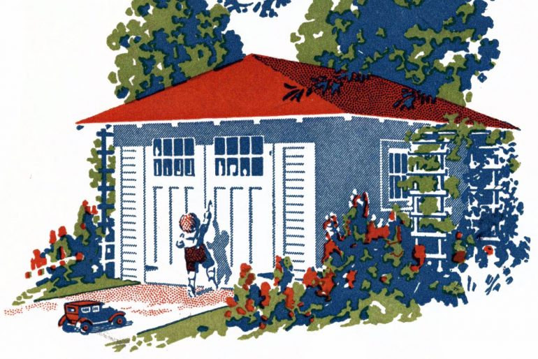 20-plus quaint residential garage additions from the twenties