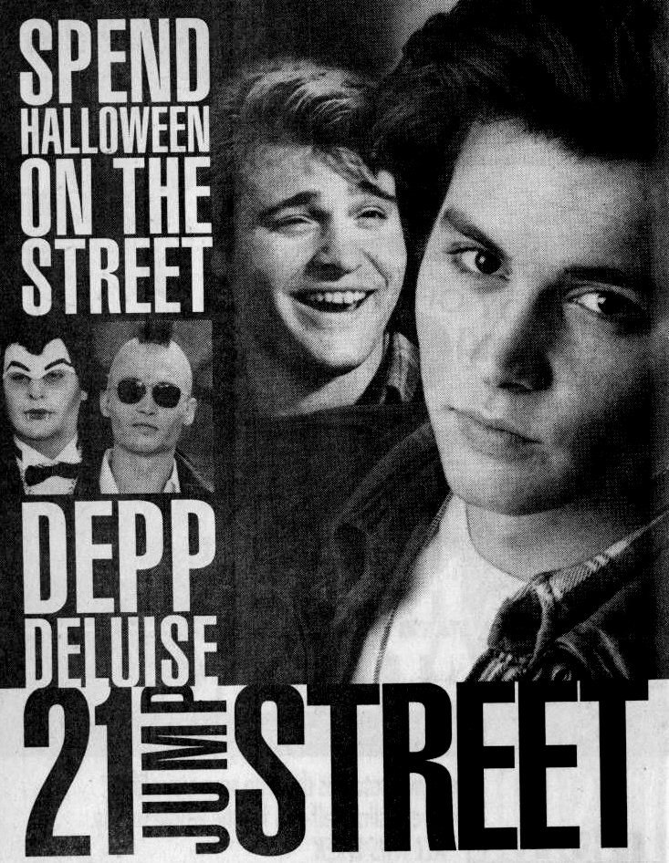 21 Jump Street - Halloween 1989 - Johnny Depp