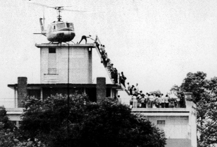 Evacuating Saigon
